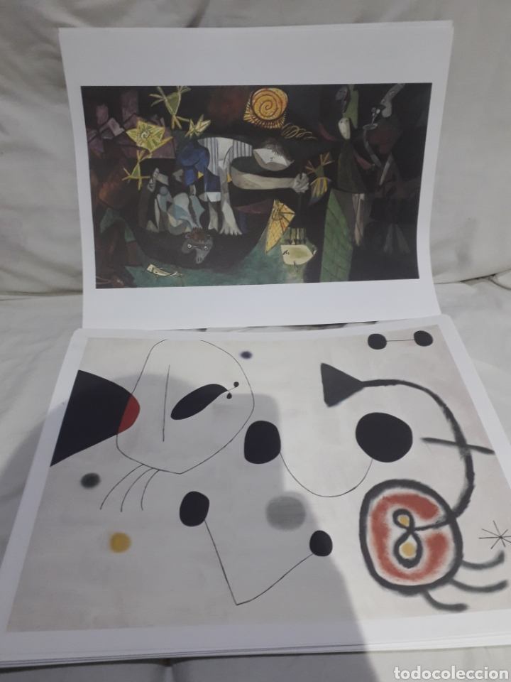 Arte: Coleccion 30 láminas de arte El Mundo Argentaria Renault Grandes genios? - Foto 3 - 255007215