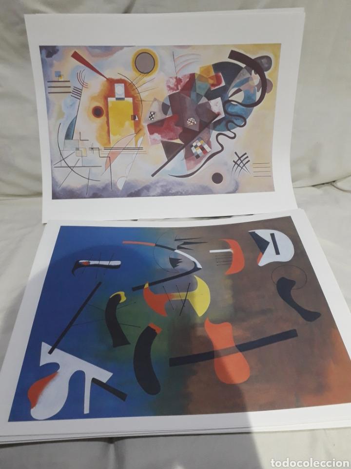 Arte: Coleccion 30 láminas de arte El Mundo Argentaria Renault Grandes genios? - Foto 4 - 255007215