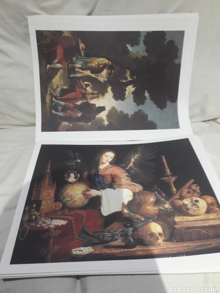 Arte: Coleccion 30 láminas de arte El Mundo Argentaria Renault Grandes genios? - Foto 5 - 255007215