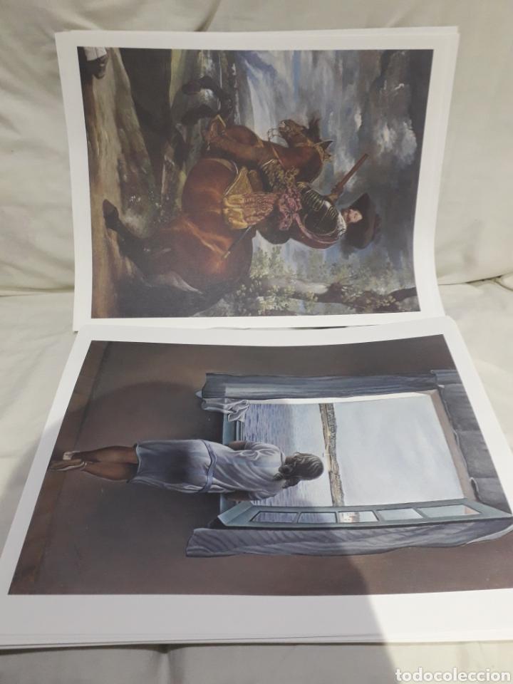 Arte: Coleccion 30 láminas de arte El Mundo Argentaria Renault Grandes genios? - Foto 6 - 255007215