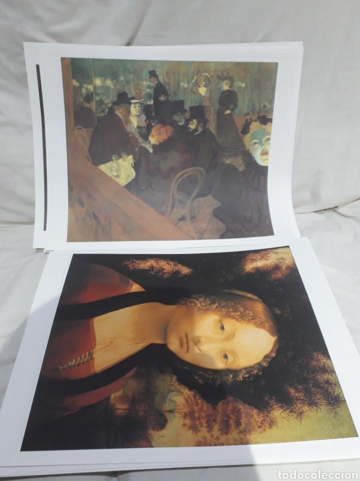 Arte: Coleccion 30 láminas de arte El Mundo Argentaria Renault Grandes genios? - Foto 9 - 255007215