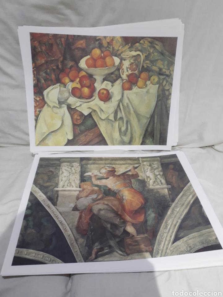 Arte: Coleccion 30 láminas de arte El Mundo Argentaria Renault Grandes genios? - Foto 12 - 255007215