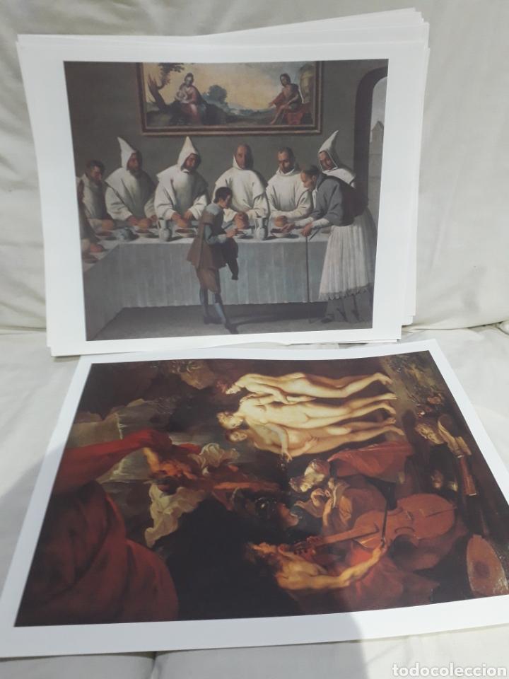 Arte: Coleccion 30 láminas de arte El Mundo Argentaria Renault Grandes genios? - Foto 15 - 255007215