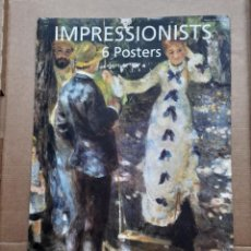 Arte: TASCHEN POSTERBOOK IMPRESSIONISTS IMPRESIONISMO POSTERS CARTELES. Lote 49452434
