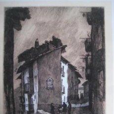 Art: LAMINA DE JOSE PONT SEGRELLES (C/DE MORELLA -CASTELLON) 1º PREMIO CERCLE POSTALS DE VILVORDE 1.954. Lote 259717015