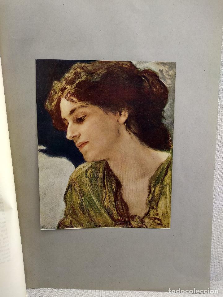 ESTUDIO DE CABEZA DE FRIEDRICH AUGUST VON KAULBACH, DE MEISTER DER GEGENWART 1904, Nº 2 (Arte - Láminas Antiguas)