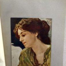 Arte: ESTUDIO DE CABEZA DE FRIEDRICH AUGUST VON KAULBACH, DE MEISTER DER GEGENWART 1904, Nº 2. Lote 261251095