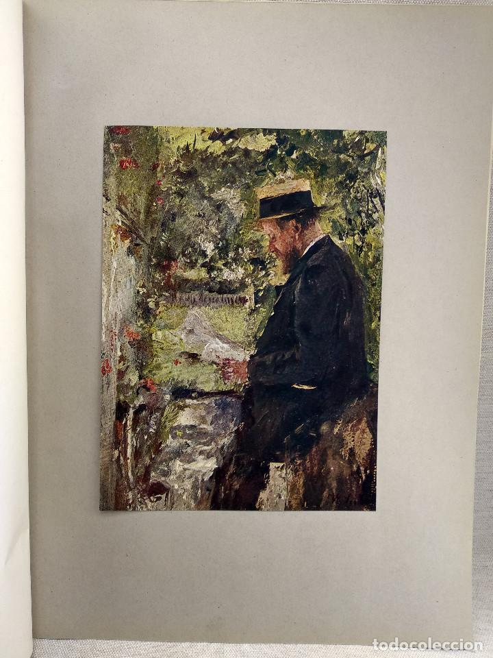 EL LECTOR DE WILHELM MARIA HUBERTUS LEIBL, DE MEISTER DER GEGENWART 1904, Nº 4 (Arte - Láminas Antiguas)