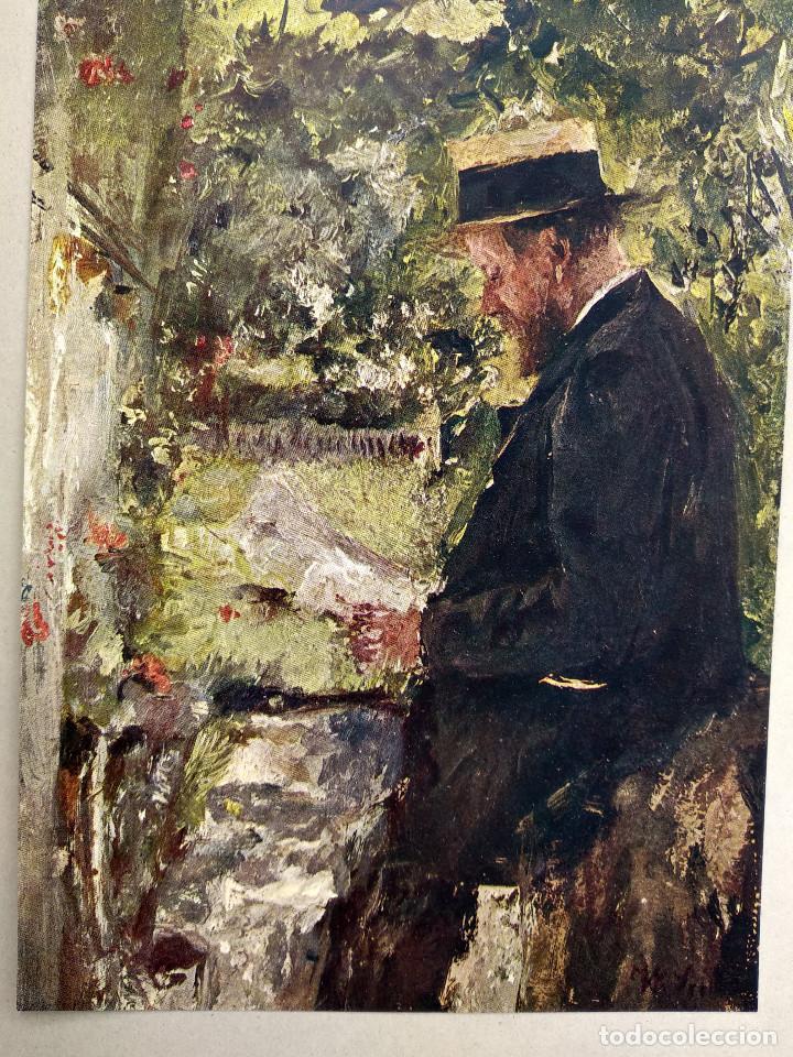 Arte: El lector de Wilhelm Maria Hubertus Leibl, de Meister der Gegenwart 1904, nº 4 - Foto 2 - 261251900