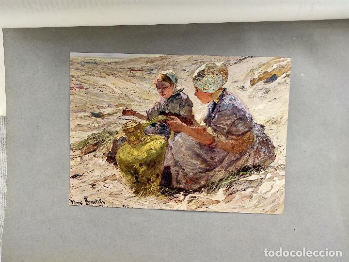 CHICAS EN LAS DUNAS DE HANS VON BARTELS, DE MEISTER DER GEGENWART 1904, Nº 5 (Arte - Láminas Antiguas)