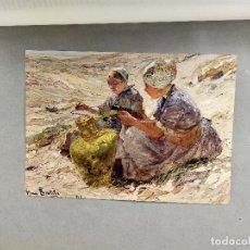 Arte: CHICAS EN LAS DUNAS DE HANS VON BARTELS, DE MEISTER DER GEGENWART 1904, Nº 5. Lote 261252705