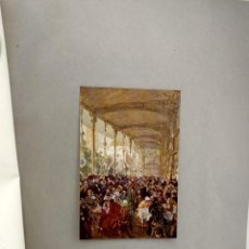 Arte: RESTAURANTE PAIRSINO DE ADOLPH VON MENZEL, DE MEISTER DER GEGENWART 1904, Nº 6. Lote 261253250