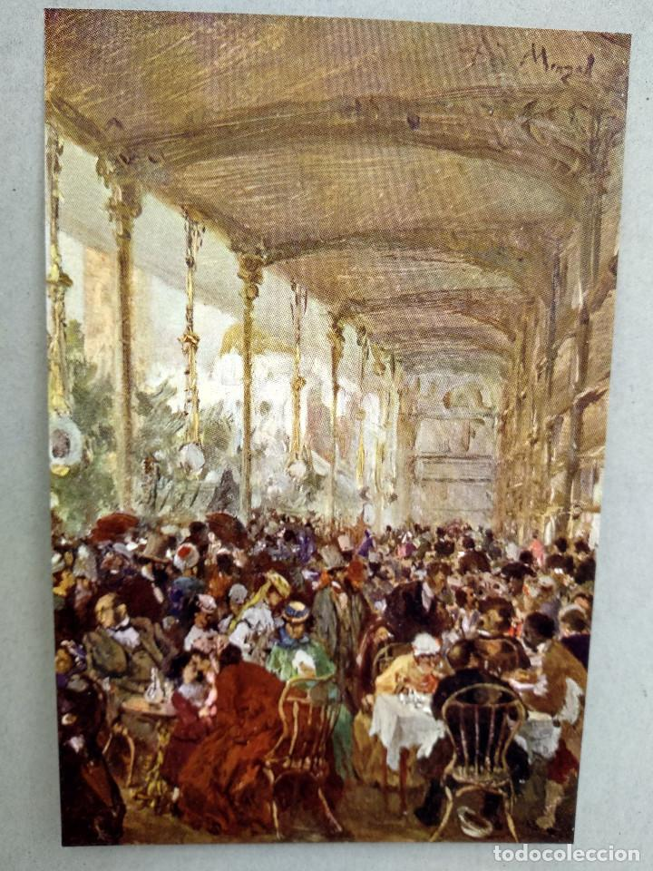 Arte: Restaurante pairsino de Adolph von Menzel, de Meister der Gegenwart 1904, nº 6 - Foto 2 - 261253250
