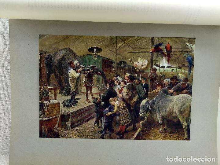 FIERAS DE PAUL FRIEDRICH MEYERHEIM, DE MEISTER DER GEGENWART 1904, Nº 7 (Arte - Láminas Antiguas)