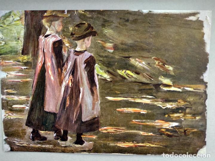 Arte: Niñas de escuela de Max Liebermann, de Meister der Gegenwart 1904, nº 9 - Foto 2 - 261255310