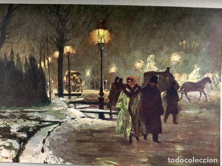 Arte: Invierno en Berlin de Franz Skarbina, de Meister der Gegenwart 1904, nº 10 - Foto 2 - 261256360