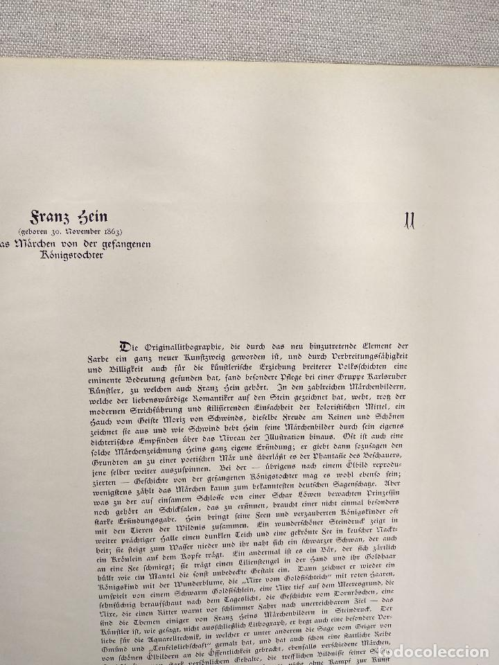 Arte: Cuento de hadas de Franz Hein, de Meister der Gegenwart 1904, nº 11 - Foto 3 - 261257250