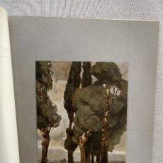 Arte: PAISAJE DE TORMENTA DE LUDWIG DILL, DE MEISTER DER GEGENWART 1904, Nº 12. Lote 261257765