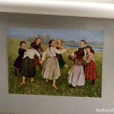 Arte: BAILE INFANTIL DE HANS THOMA, DE MEISTER DER GEGENWART 1904, Nº 13. Lote 261258270