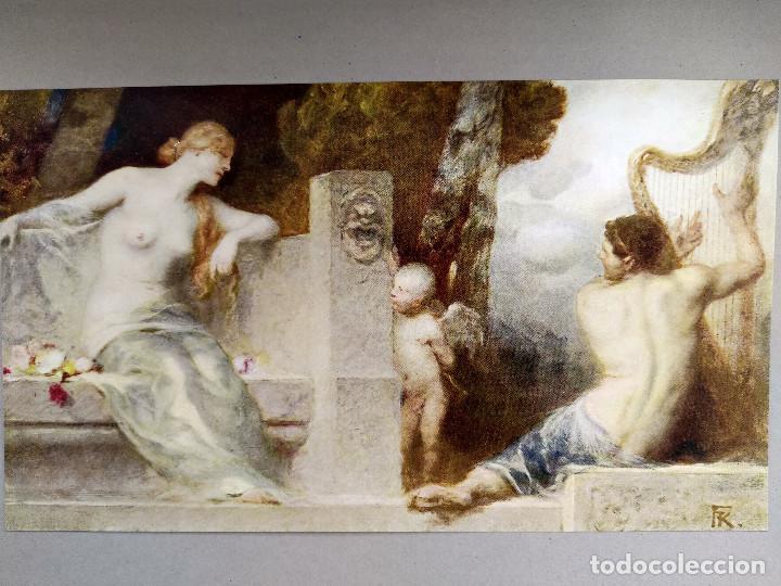 Arte: La musica de Ferdinand Keller, de Meister der Gegenwart 1904, nº 14 - Foto 2 - 261259785