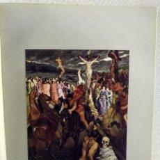 Arte: LA CRUXIFICION DE WILHELM TRÜBNER, DE MEISTER DER GEGENWART 1904, Nº 16, RELIGIOSO. Lote 261260270