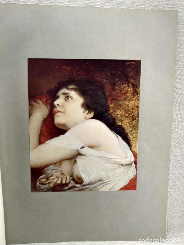 LUCRECIA DE GABRIEL MAX, DE MEISTER DER GEGENWART 1904, Nº 17 (Arte - Láminas Antiguas)