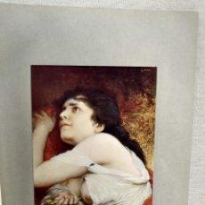 Arte: LUCRECIA DE GABRIEL MAX, DE MEISTER DER GEGENWART 1904, Nº 17. Lote 261260715