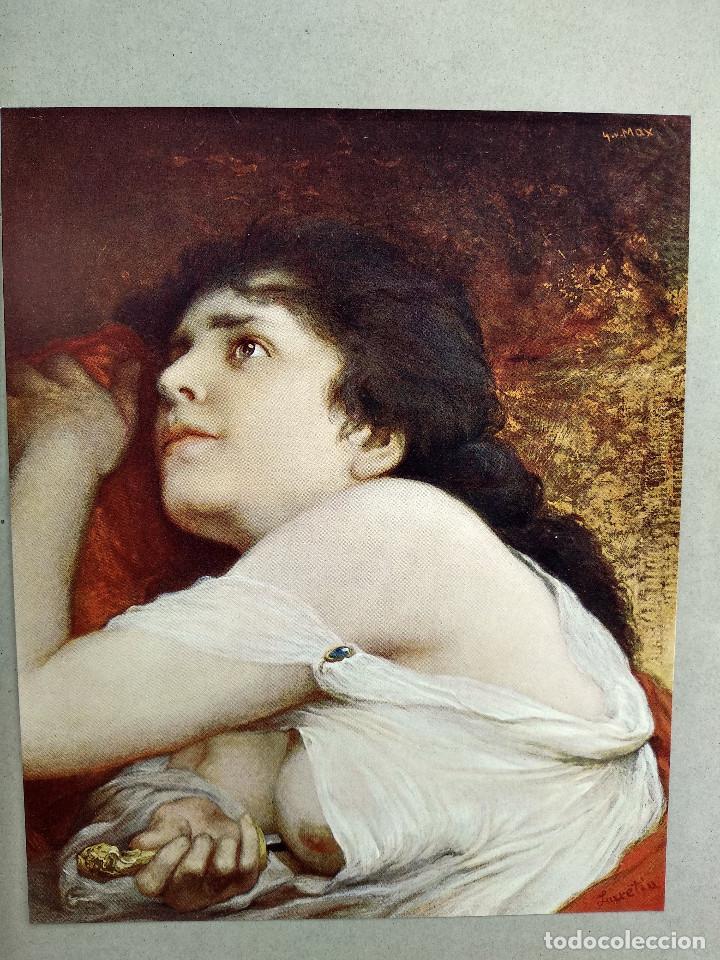 Arte: Lucrecia de Gabriel Max, de Meister der Gegenwart 1904, nº 17 - Foto 2 - 261260715