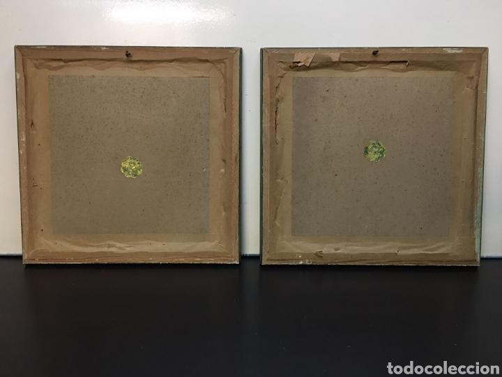 Arte: Antiguos Dibujos en lámina de animales salvajes enmarcados en cristal, borde en madera lujo - Foto 7 - 261261865