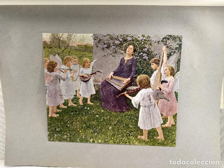 SANTA CECILIA DE WILHELM VOLZ , DE MEISTER DER GEGENWART 1904, Nº 19, MUSICA (Arte - Láminas Antiguas)