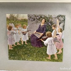 Arte: SANTA CECILIA DE WILHELM VOLZ , DE MEISTER DER GEGENWART 1904, Nº 19, MUSICA. Lote 261262120