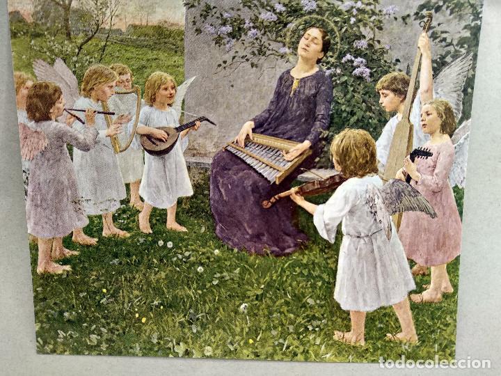 Arte: Santa Cecilia de Wilhelm Volz , de Meister der Gegenwart 1904, nº 19, musica - Foto 2 - 261262120
