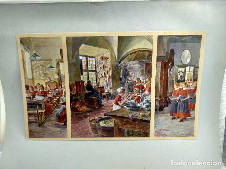 EN EL ORFANATO DE GOTTHARD KUEHL , DE MEISTER DER GEGENWART 1904, Nº 21 (Arte - Láminas Antiguas)