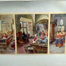 Arte: EN EL ORFANATO DE GOTTHARD KUEHL , DE MEISTER DER GEGENWART 1904, Nº 21. Lote 261263145