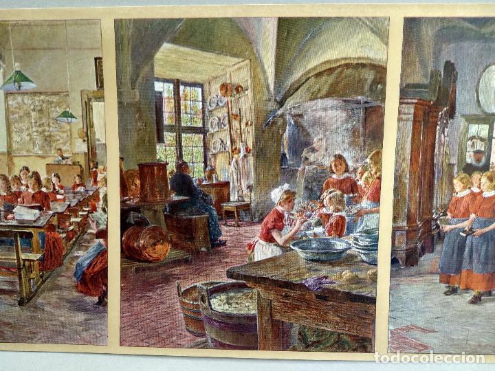 Arte: En el orfanato de Gotthard Kuehl , de Meister der Gegenwart 1904, nº 21 - Foto 2 - 261263145