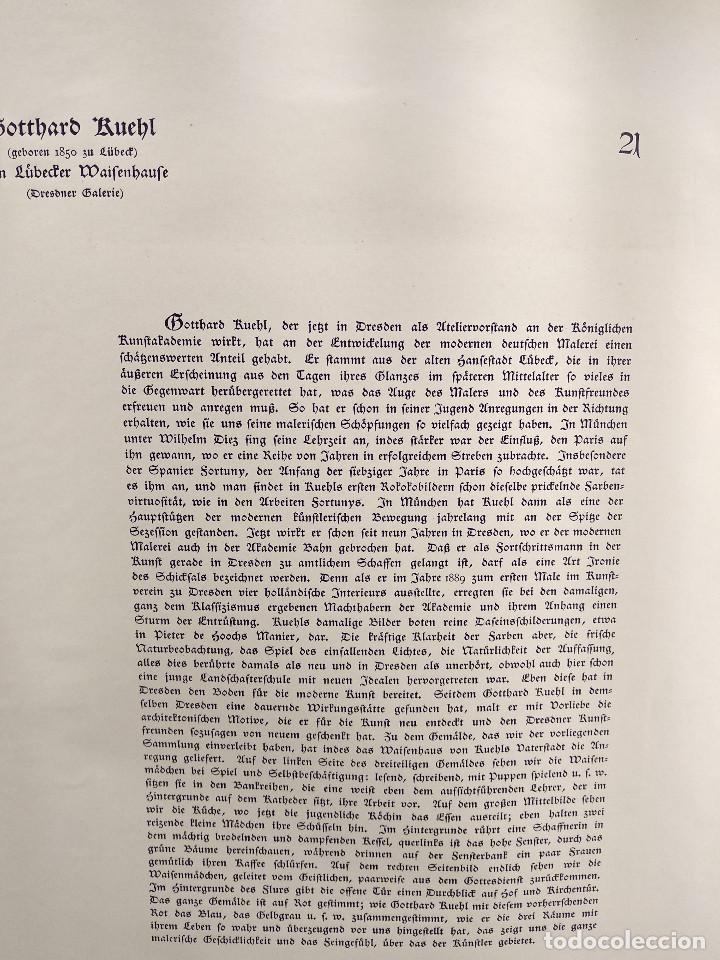 Arte: En el orfanato de Gotthard Kuehl , de Meister der Gegenwart 1904, nº 21 - Foto 3 - 261263145