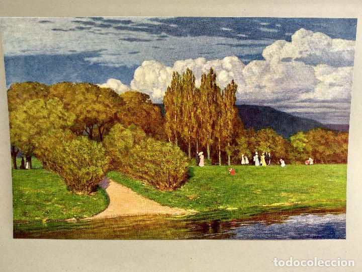 Arte: Domingo de primavera de Max Pietschmann, de Meister der Gegenwart 1904, nº 22 - Foto 2 - 261263725