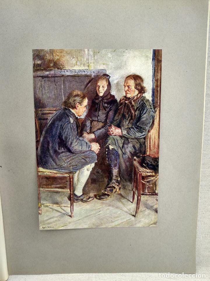 GRANJA DE ARPILLERA DE ROBERT STERL, DE MEISTER DER GEGENWART 1904, Nº 24 (Arte - Láminas Antiguas)