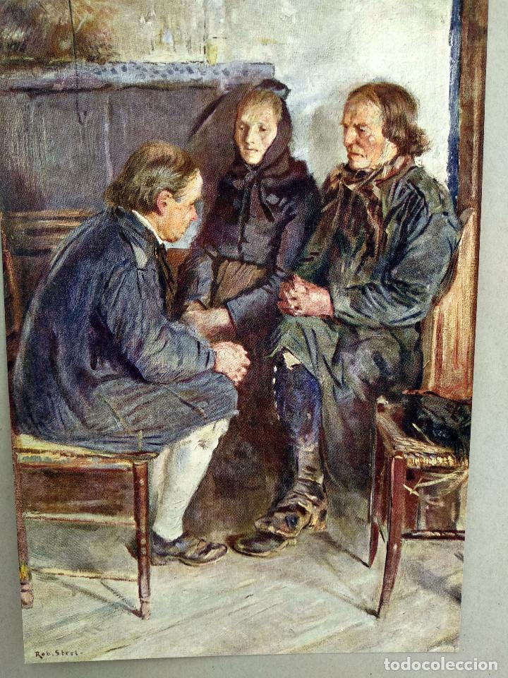 Arte: Granja de arpillera de Robert Sterl, de Meister der Gegenwart 1904, nº 24 - Foto 2 - 261267405