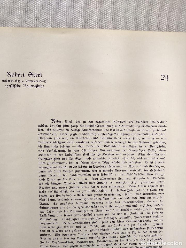 Arte: Granja de arpillera de Robert Sterl, de Meister der Gegenwart 1904, nº 24 - Foto 3 - 261267405