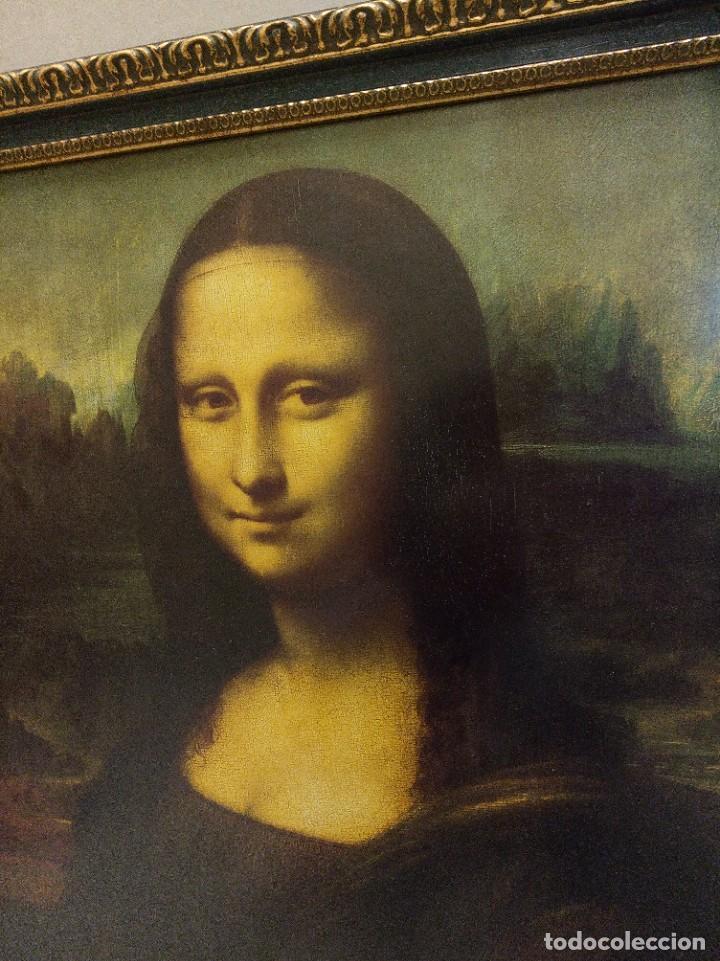 Arte: Cuadro reproducción Mona Lisa - Foto 3 - 261297990
