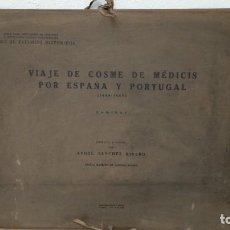 Arte: LAMINAS VIAJE DE COSME DE MÉDICIS POR ESPAÑA Y PORTUGAL (1668 - 1669). Lote 262054760
