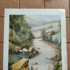 Arte: SERIE GABRIEL Nº 2122 - AÑO 1996 - PINTOR VAZANDU - LAMINA MEDIDAS 23,5 X 29,5 CM. Lote 262218000