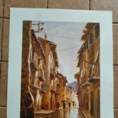 Arte: SERIE GABRIEL Nº 814 - AÑO 1979 - PINTOR T.MARTORELL - LAMINA MEDIDAS 23,5 X 29,5 CM. Lote 262218475
