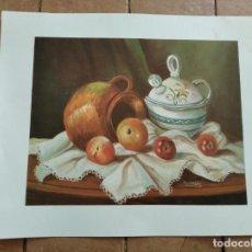 Arte: SERIE GABRIEL Nº 1634 - AÑO 1996 - PINTOR RETAMERO - LAMINA MEDIDAS 23,5 X 29,5 CM. Lote 262218635