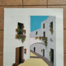 Arte: ASTRO Nº 305 - AÑO 1991 - PINTOR ML.ROMERO - LAMINA MEDIDAS 23,5 X 29,5 CM. Lote 262218815