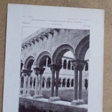 Arte: RIPOLL – GERONA – CLAUSTRO DEL MONASTERIO DE SANTA MARÍA. Lote 263089785