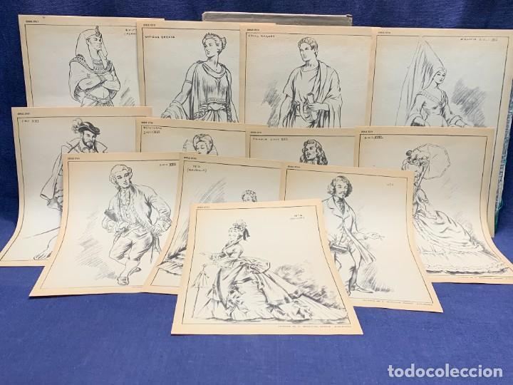 Arte: 7 SERIES LAMINAS DIBUJO ARTISTICO EMILIO FREIXAS LECCIONES DIBUJO ARTISTICO 27X18CMS - Foto 14 - 265161059