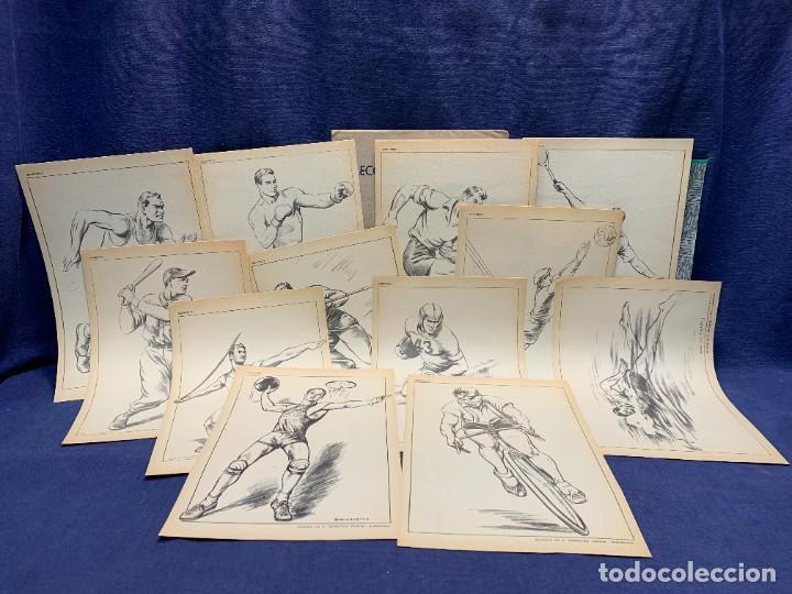 Arte: 7 SERIES LAMINAS DIBUJO ARTISTICO EMILIO FREIXAS LECCIONES DIBUJO ARTISTICO 27X18CMS - Foto 46 - 265161059