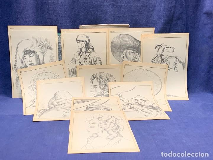 Arte: 7 SERIES LAMINAS DIBUJO ARTISTICO EMILIO FREIXAS LECCIONES DIBUJO ARTISTICO 27X18CMS - Foto 72 - 265161059